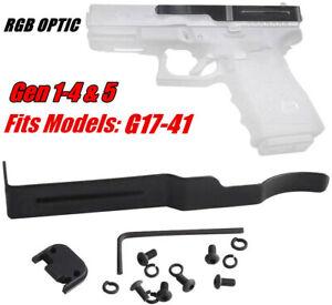 RGB Gun Holster Belt Clip for Glock Concealed Carry Fit G17-41 19 22 25 27 28 30