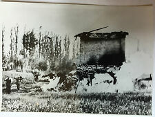 ww2 photo press , German command  post captured in Italy       / 20