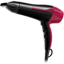 REMINGTON Pro-Air Ionen Haartrockner 2200W Stylingdüse Haarföhn Fön schwarz-pink
