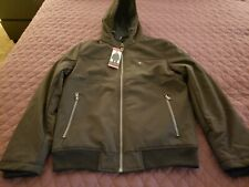 Tommy Hilfiger Black Soft Shell Bomber Jacket With Hood...