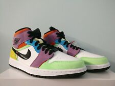 Nike Air Jordan 1 Mid SE Multicolour Lightbulb - UK 6.5 / US 7.5 - CW1140-100