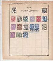 tunisia & morocco stamps page ref 17600