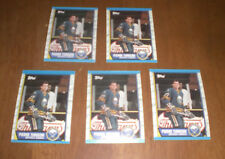FIVE 1989-90 TOPPS SABRES PIERRE TURGEON HOCKEY CARDS  - #25