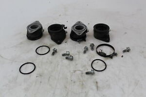 1982 suzuki gs650g Engine Intake Pipe Set and Clamps13110-47010  13120-47010  09
