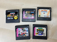 Sega Game Gear Lot of 5 Games Arch Rivals MLB NBA Action NFL NHL SPORTS TITLES