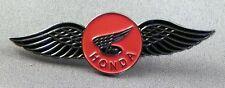 Metallo Smalto Spilla Badge Spilla Bici Moto Wings Logo Hond Tourer Grande