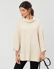 Joules Womens Vanna Kimono Sleeve Jumper - OAT Size 18