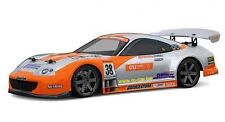 Toyota Supra  1:18 HPI 7616 GT Body / Karosserie clear + decals wb140mm