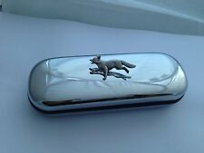 A3 Running Fox  On a Chrome Glasses Case