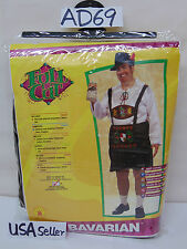 HALLOWEEN OUTFIT MEN RUBIES FULL GERMAN BAVARIAN UP TO 50 CHEST & 46 WASTE NEW