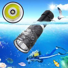 10000LM XM-L T6 LED Diving Aluminum Flashlight Torch Underwater 100m 26650
