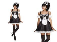Costumi e travestimenti neri per carnevale e teatro da donna poliestere , sul cameriere e camerieri