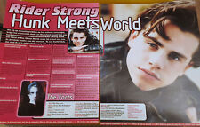 Clippings cuttings - RIDER STRONG - 4 pages - S-350