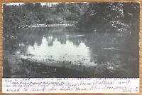 DUBOIS PENNSYLVANIA SANDY CREEK IN EDGEMONT PARK POSTCARD 191