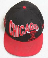 New Era Chicago Bulls Black White Red Adult Men's Cotton 59Fifty Windy City Cap