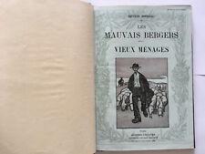 LES MAUVAIS BERGERS VIEUX MENAGES MIRBEAU MODERN THEATRE ILLUST DETHOMAS