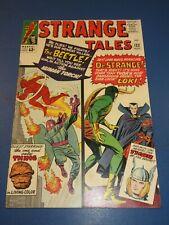 Strange Tales #123 Silver age Dr. Strange vs Loki Key Thor Fine- Beauty Wow