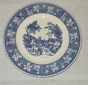 Homer Laughlin Shakespeare Country Stratwood Collection Dinner Plate Ironstone