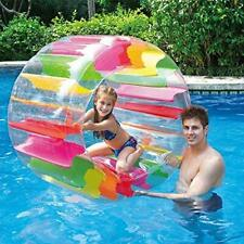 Inflatable Pool Water Wheel Roller Float Toy Play kids
