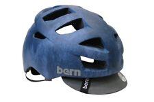 Bern Allston Zipmold Road Bike Helmet 2XL-3XL Blue Flipaway Visor