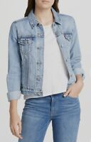 Levi's Women's Original Trucker Jacket In Light Wash Blue