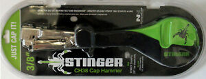 STINGER CH38 CAP FEED HAMMER STAPLE TACKER FOIL INSULATION TRIGGER FEED