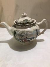 Johnson Brothers Friendly Village Teapot Tea Pot Teapot