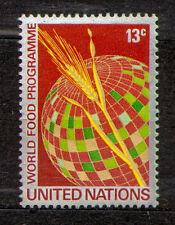 UNO New York 1971 Mi 234 Wheat and Globe - MNH