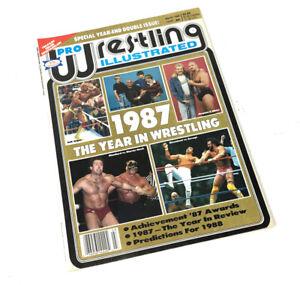 PWI Pro Wrestling Illustrated March 1988 WWF WCW Wrestlemania 3 1987 Savage