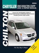 Chilton Workshop Manual Chrysler Grand Caravan /Town & Country 2008-2012 New