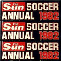 The Sun Soccer Annual 1982 Football Player Single Pictures - Various Teams
