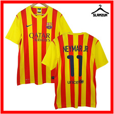 FC Barcelona Football Shirt Nike L Large Away Neymar Soccer Jersey 2013 2014 X7