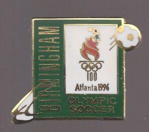 1996 Atlanta Birmingham Soccer Football Olympic Venue Pin Small Version