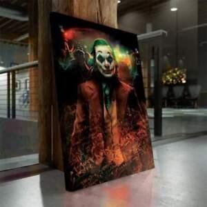 Leinwand Bild Joker – Deko Bilder XXL Keilrahmen Wandbild Kunstdrucke Poster
