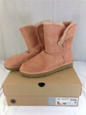 NEW Ugg Boot Bailey Button II Suntan (Light Pink) Size 12