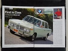 1967 BMW 2000 - 4 Page Article