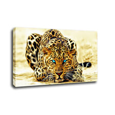 Animal Wall Art Canvas Painting Giclee Print Art for Home Decor Leopard tiger