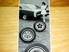 1968 DODGE CHARGER RT / ORIGINAL CRAGAR AD-440/426 HEMI v8 engine/street/race/SE