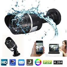 720P Network Outdoor Waterproof IP Camera Home Security IR Cut CCTV Webcam HD