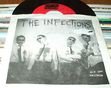 THE INFECTIONS Kill For You 45 RECORD WITH PS RARE PUNK RIP OFF RECORDS