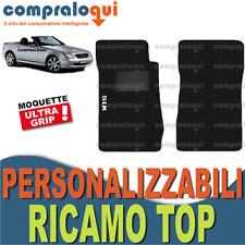 TAPPETINI per MERCEDES BENZ SLK (R170) TAPPETI AUTO su MISURA + RICAMO TOP