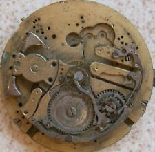 Repeater Pocket watch Movement 50 mm. in diameter for parts