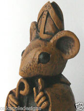 Church Mouse Bishop Reproduction Carving Unique Gift Collectable Ornament Vicar