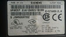 PLC SIEMENS s7 200 CPU 226 DC/DC/DC 6ES7 216-2AD21-0XB0