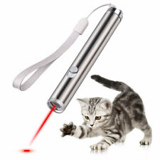 Interactive Pet Cat Laser Pointer Toy Joyful Flashlight Led Light Red Welcome