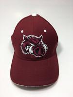 Zephyr Mens Arkansas Razorbacks NCAA  Baseball Maroon Snapback Cap Hat Size OS