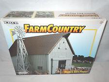 Farm & Country Western Grey Barn Playset   By Ertl  1/64th Scale