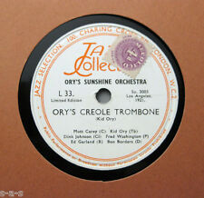 Ory's Sunshine Orchestra - Ory's Creole Trombone / Society Blues (45)