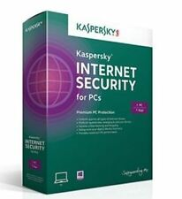 Kaspersky Internet Security 2017-18 3 PC 1 Year for Window - License Key Only AU