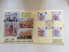 Marks & Spencer Centenary First Day Cover
